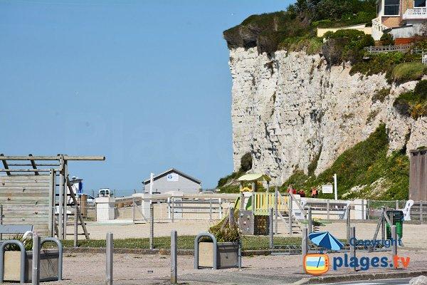 Area for children in Criel sur Mer