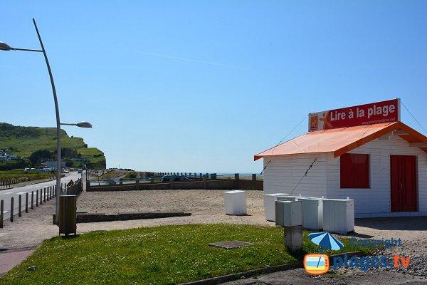 Read on the beach - Criel sur Mer