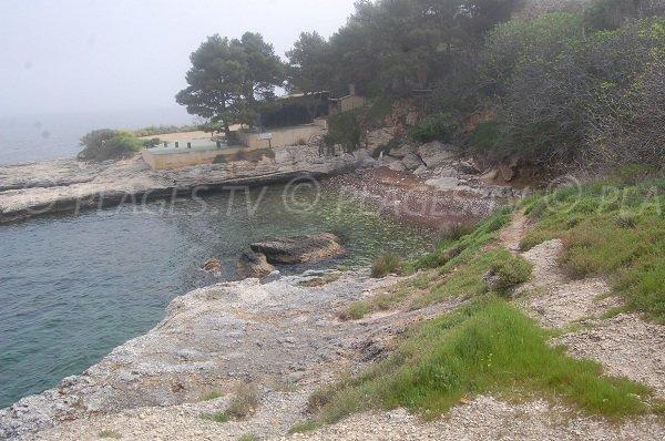 Plage de la Crique de St Florent en Corse