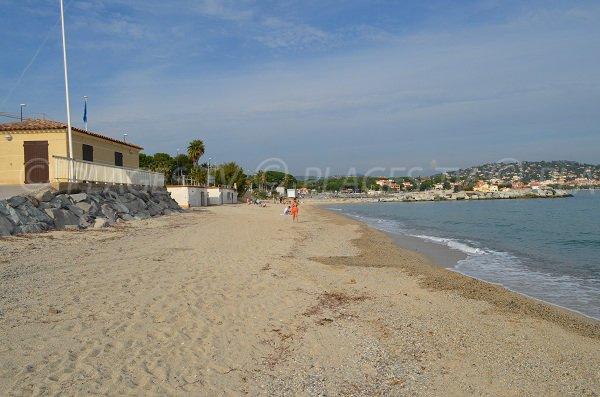 Rampa d'accesso a questa spiaggia di Sainte Maxime
