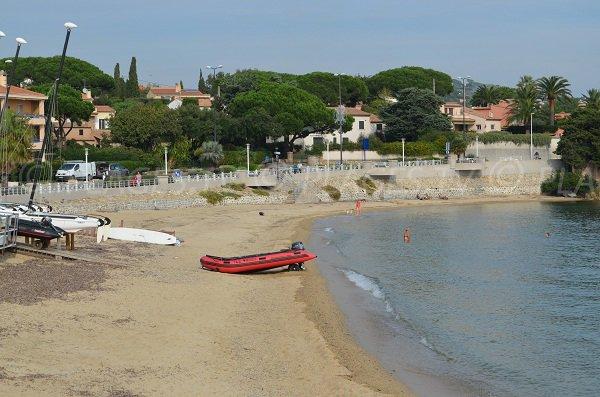 Base nautica della spiaggia della Croisette a Sainte Maxime