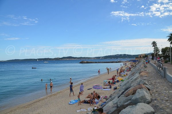 Photo of Croisette beach in Ste Maxime - France