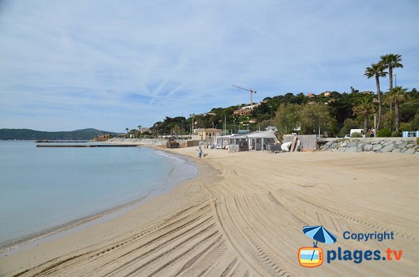 Photo of Croisette beach - Ste Maxime near Port Grimaud