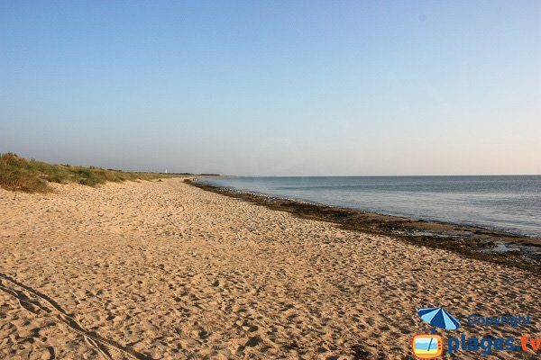 Photo of Croix Rouge beach in Noirmoutier in France