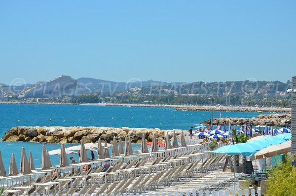Spiaggia privata di Cros de Cagnes - Francia