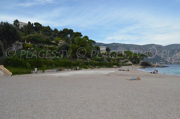 Spiaggia pubblica Pin Cros di Saint Jean Cap Ferrat
