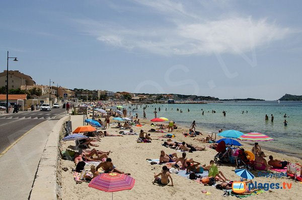 Photo of Cros beach in Six Fours les Plages - France
