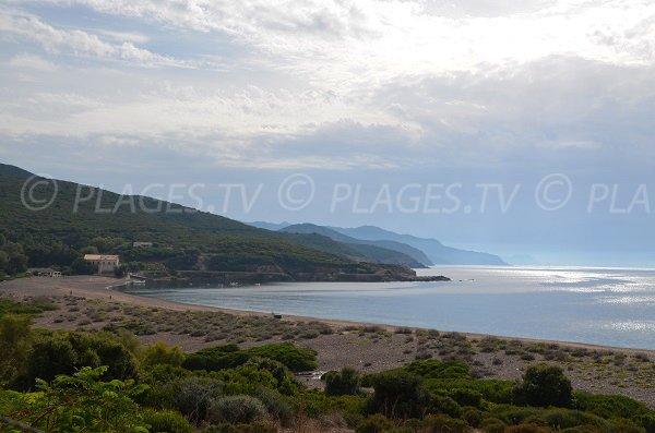 Plage de l'Argentella - Baie de Crovani - Sud de Calvi