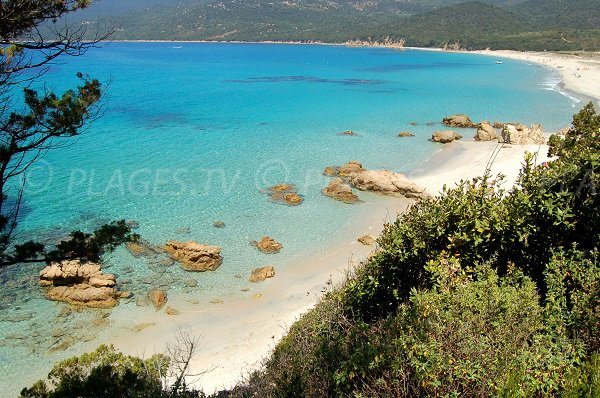 Cupabia beach - main part