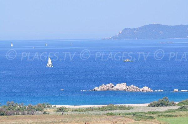 Baie de Cupabia en Corse du Sud