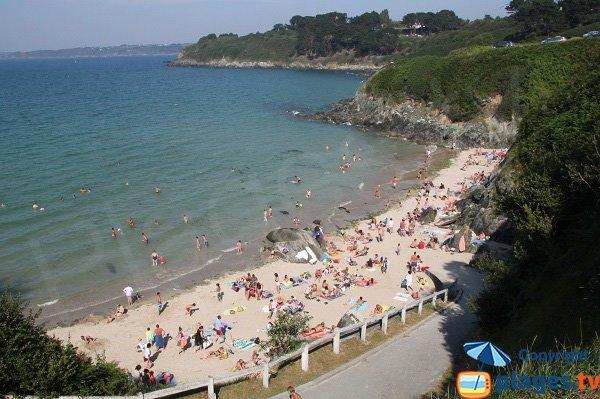 Photo de la plage des curés de Plestin les Grèves
