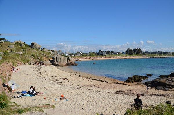 Photo of Cures beach in Trégastel