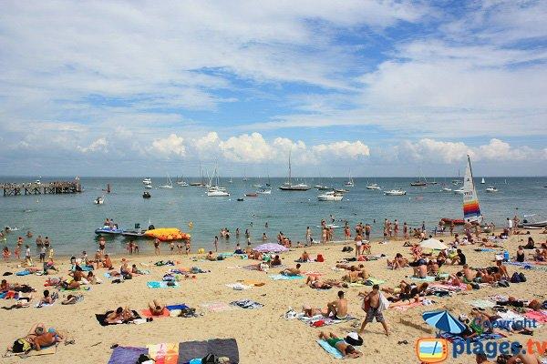 Spiaggia Di Dames di agosto a Noirmoutier