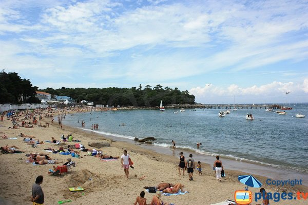 Sand beach in Noirmoutier - Les Dames