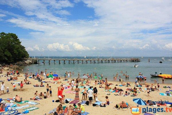 Foto della spiaggia di Dames - Noirmoutier - Francia