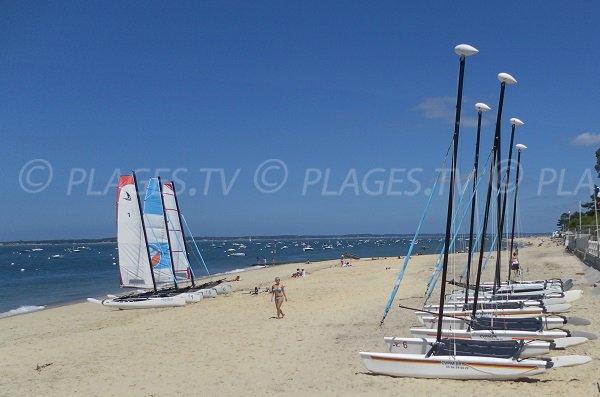 Beach between Arcachon and Pylat sur Mer