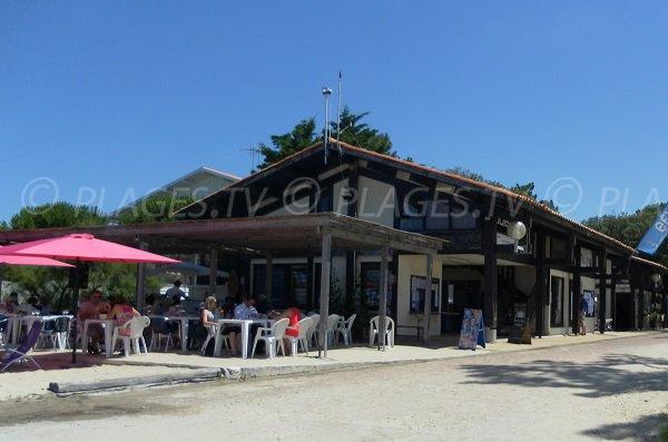 Bar et restaurant à proximité de la plage Daniel Meller à Pyla