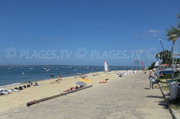 Daniel Meller beach in Pyla sur Mer in France