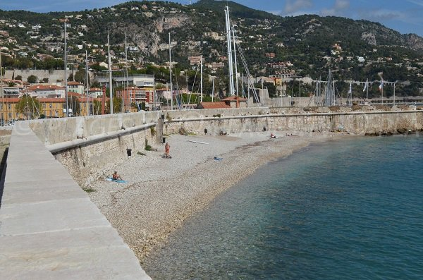 Photo of the Darse beach in Villefranche sur Mer