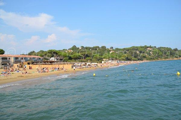 Foto della spiaggia della Douane - La Croix Valmer