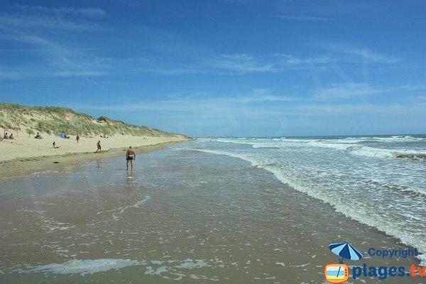 South of Demoiselles beach - St Hilaire de Riez