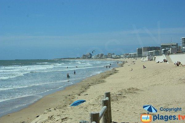 Photo of Demoiselles beach in Saint Hilaire de Riez in France