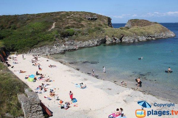 Photo of Deuborh beach in Belle Ile en Mer in France