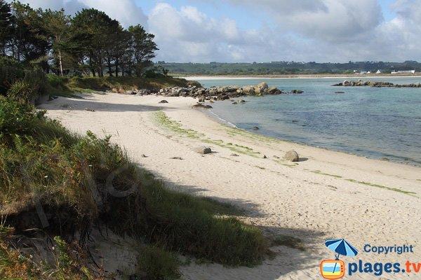 Photo de la plage de Dibennou Ouest - Guisseny