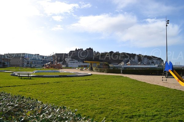 Dieppe castle and area for childreen