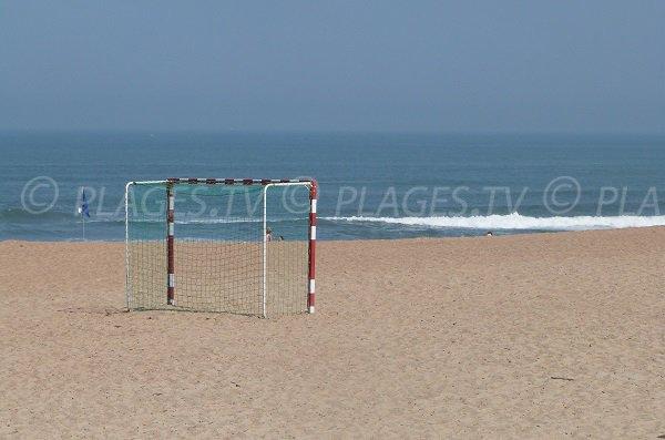 Beach soccer in Tarnos