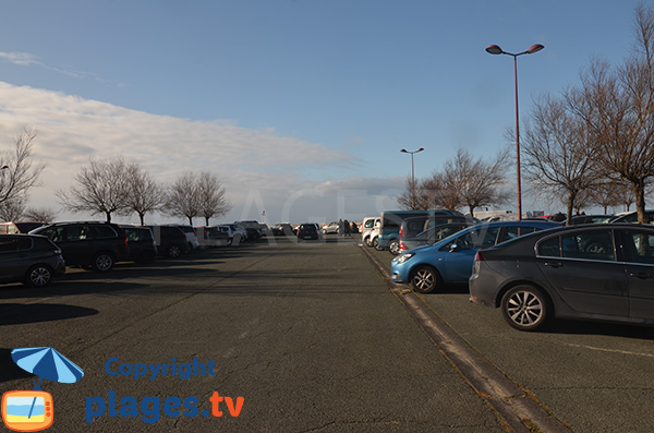 Parking de la plage de la Digue - Tarnos