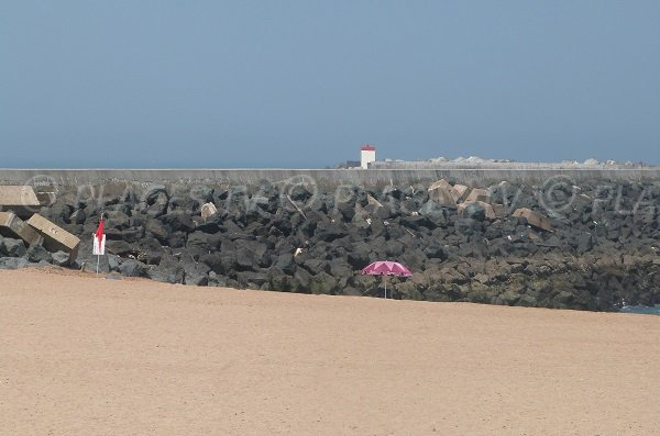 Beach near Adour dick in Tarnos