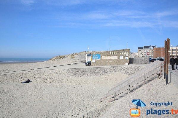 Partie nord de la plage de Dobin - Berck