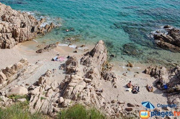 Spiaggia Dolce Vita a Ajaccio - Corsica
