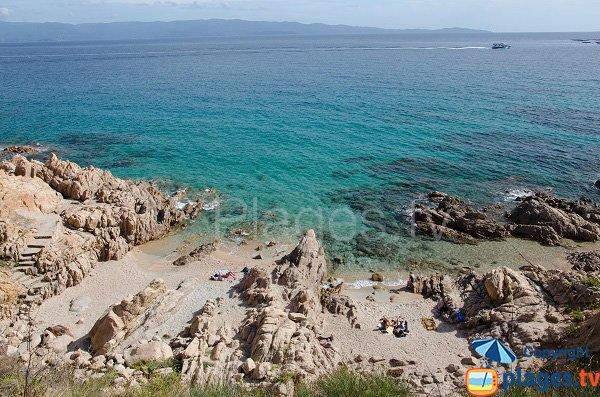 Photo de la plage de Dolce Vita à Ajaccio