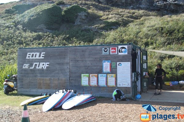 Surf scool in Belle Ile - Donnant