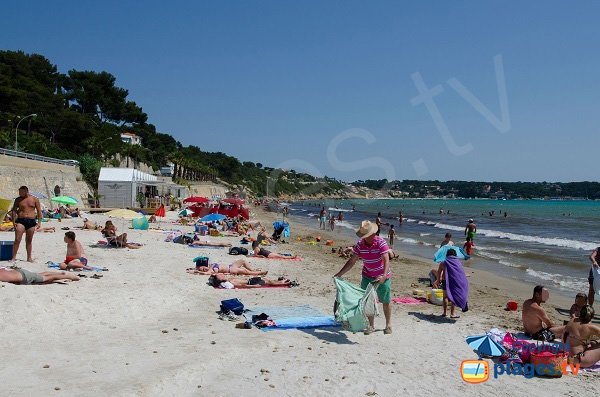 Photo of Doree beach in Sanary sur Mer - France