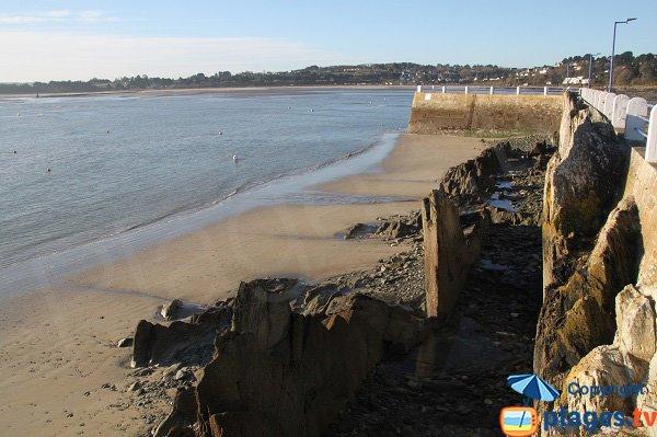 Photo de la plage du Dos du Port de Locquirec