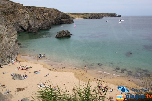 Photo of Dotchot beach  in Belle Ile en Mer - France