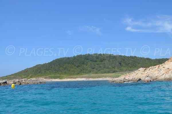 Douane beach and Cape Taillat - Ramatuelle