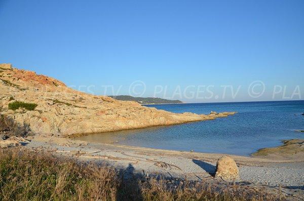 Beach near the Cape Taillat - France