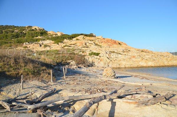 Wild beach in Ramatuelle - La Douane