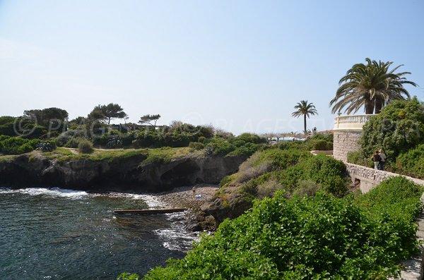 Sentier du littoral au Cap d'Ail