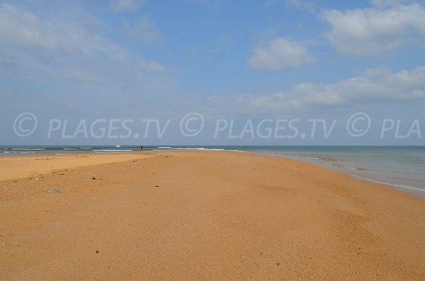 Spiaggia al porto Douhet sull'isola di Oleron