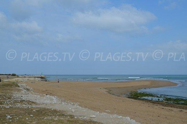 Entrée du port de Plaisance du Douhet et sa plage