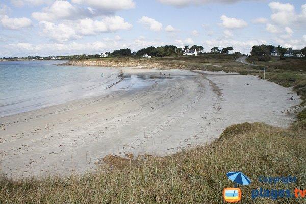 Photo de la plage de Dourveil à Névez - Bretagne