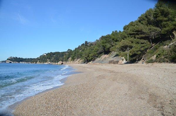 Spiaggia Monaco del Pradet in Francia