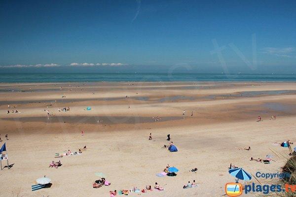 Spiaggia sorvegliata a Wissant