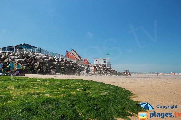 Pronto soccorso della spiaggia di Wissant