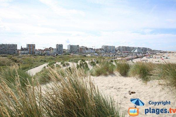 Le Touquet depuis les dunes